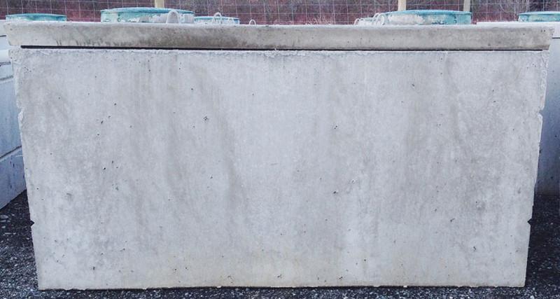 Vancouver Island Precast - 2 Chamber Concrete Septic Tanks - 1050